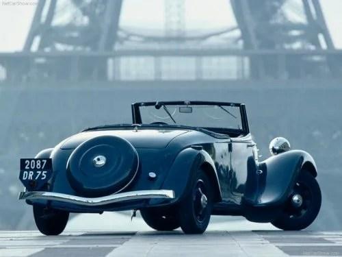 Atelier du Loft Mobilier avec pièces autos Deco auto Citroën Traction 11 B Cabriolet 1937