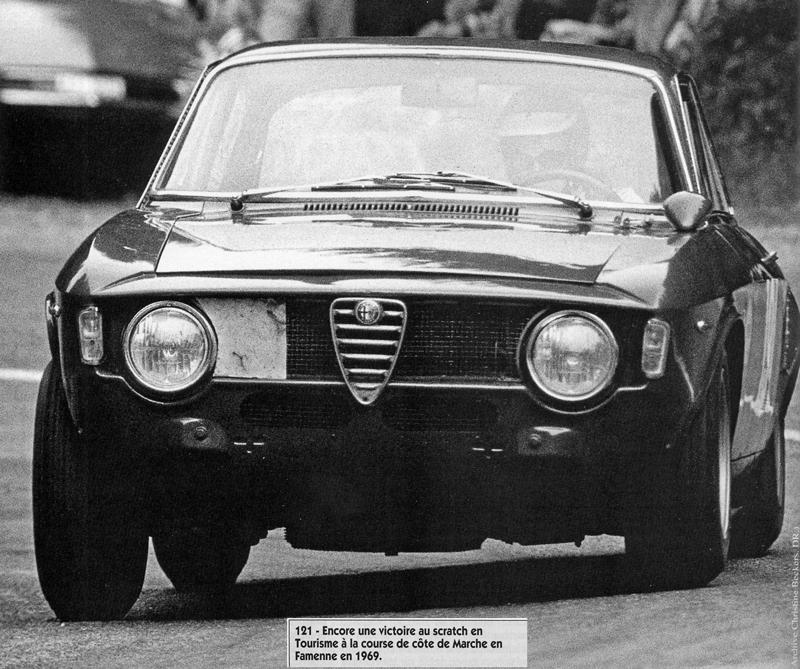 1969 Christine Beckers, course de côte Marche en Famenne