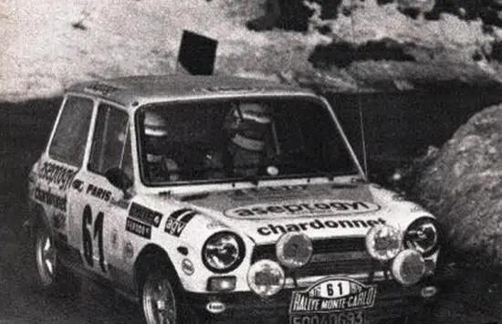 Christine Dacremont Rallye Monté Carlo sAutobianchi A112