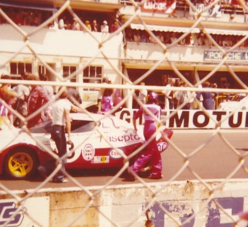 Christine Dacremont 24h du Mans 1976 2ème de son groupe GTP