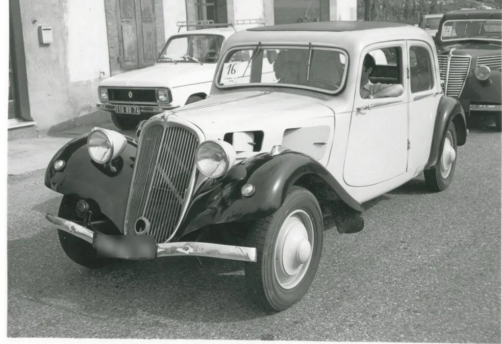 Déco garage Citroën Traction 7 A 1934