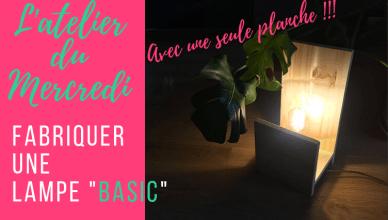 ADM lampe Basic Atelier du mercredi