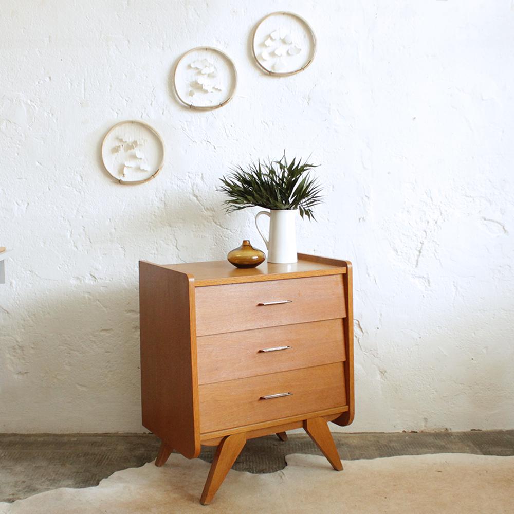 meuble rangement tiroirs vintage g474 c