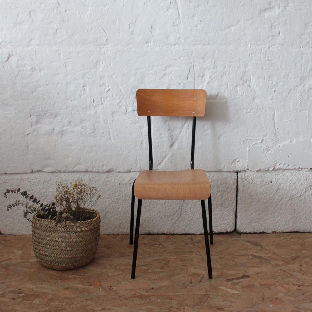 chaise enfant vintage hollandaise