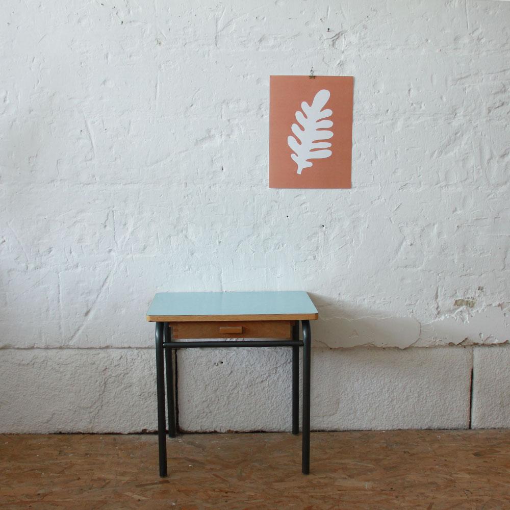 bureau ecolier vintage atelier du