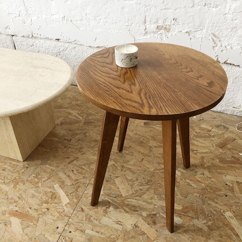 table basse bois vintage atelier du