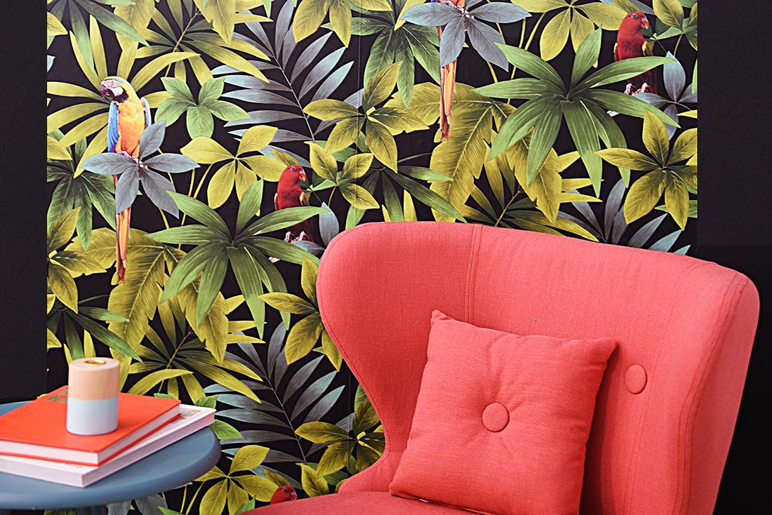Mur atelier papier peint l'appart créatif