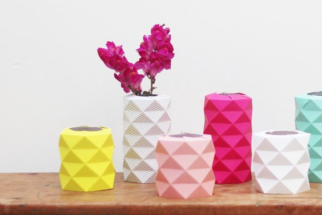 vase origami