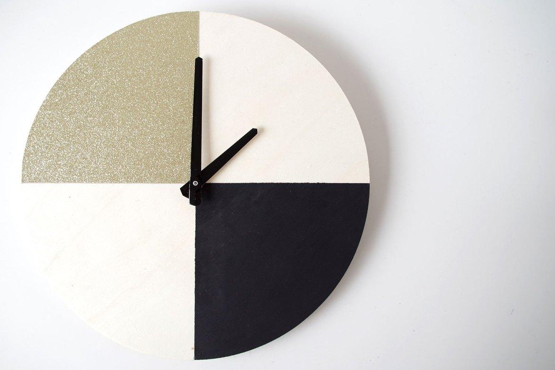 {DIY} Il est pile poil l'OR sur mon horloge (5)
