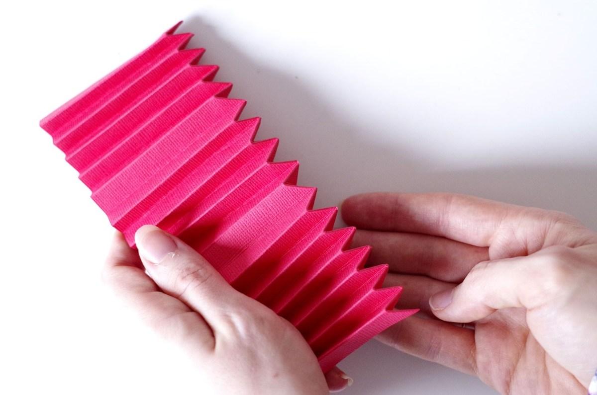 DIY Un cadre En origami pour mon miroir pour un look géométrique (5)