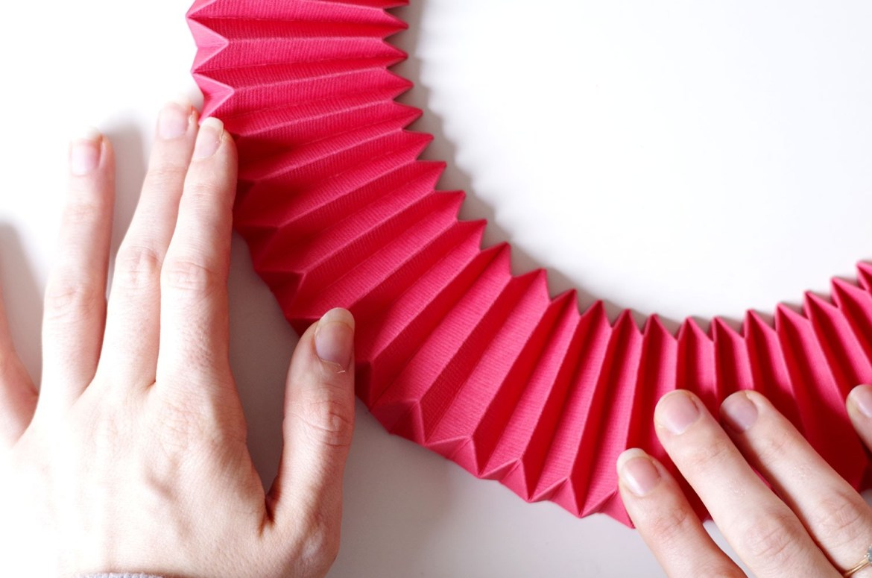 DIY Un cadre En origami pour mon miroir pour un look géométrique (9)