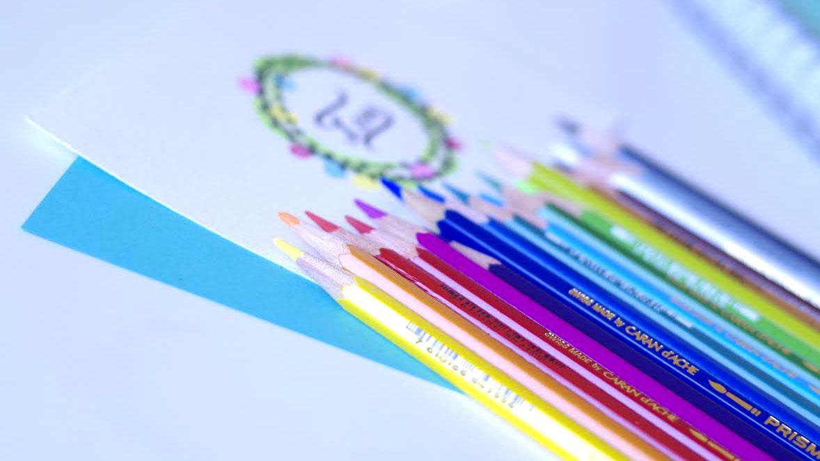 Les crayons aquarellable
