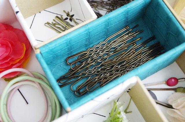 {DIY} Mon casier pour ranger mes accessoires pour cheveux