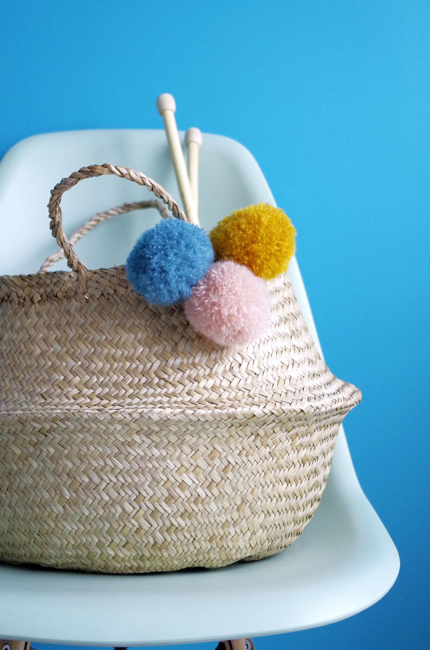 DIY – Mon panier à pompons