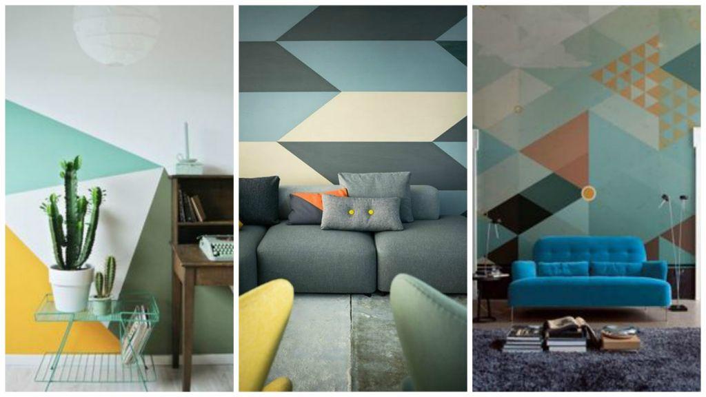envie de geometrie sur mes murs