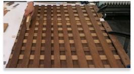 Structurele conservering van panelen - cursus  restauratie restoratie restaurateur den haag zuid holland