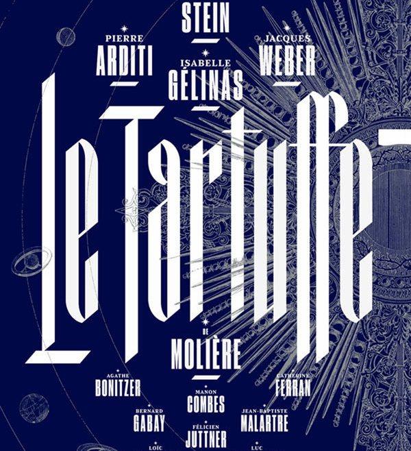 """ Tartuffe"" au Théâtre de la Porte Saint Martin"