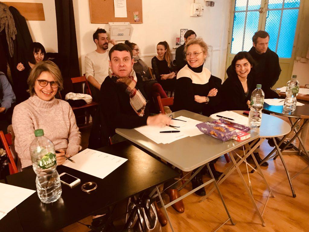 Les évaluations des classes de la formation professionnelle ont débuté ce jeudi 7 février, en présence d'un jury de professionnels atelier juliette moltes