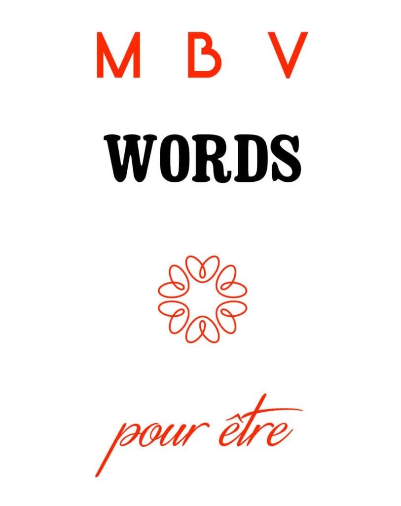 logo MBV words pour le story telling et les biographies