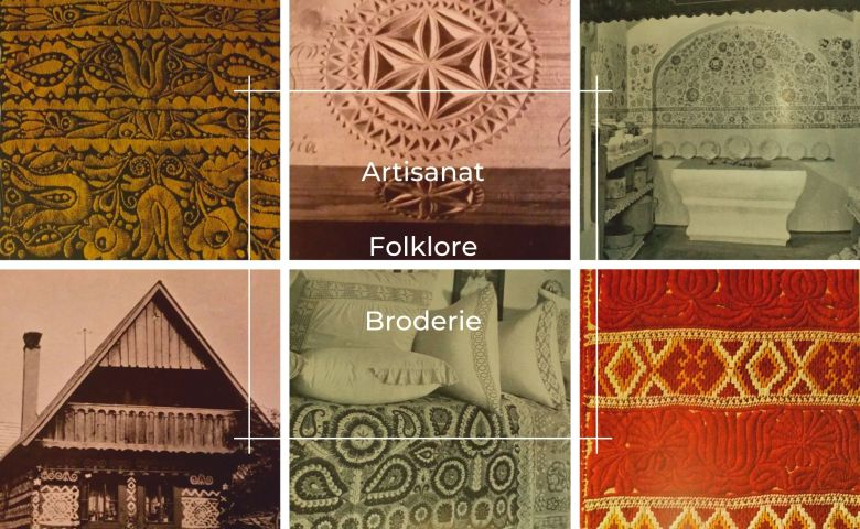 artisanat slovaque.folklore.broderie