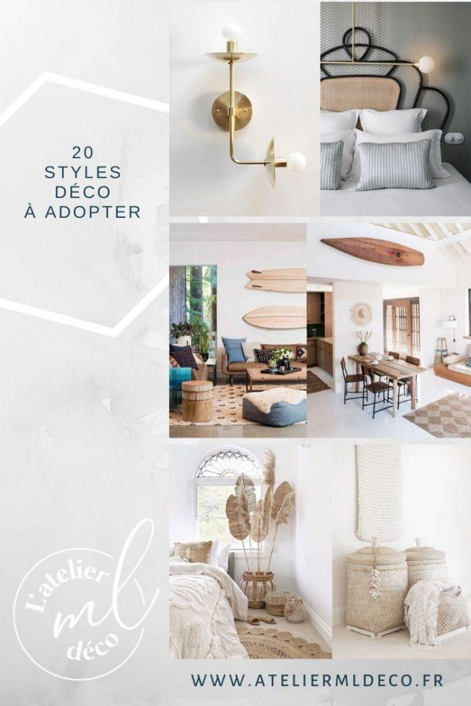 20 styles de decoration atelier ml
