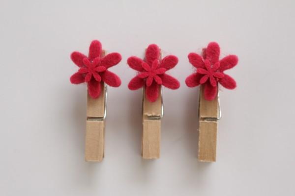 Les deux fleurs rose I