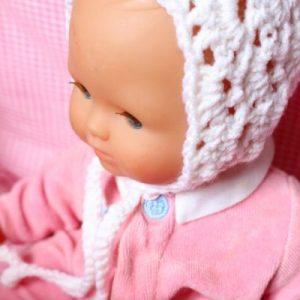 Béguin bonnet bébé naissance 100% laine vierge