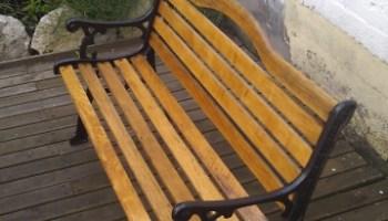 Restauration Banc Bois Jardin Atelier Passion Du Bois