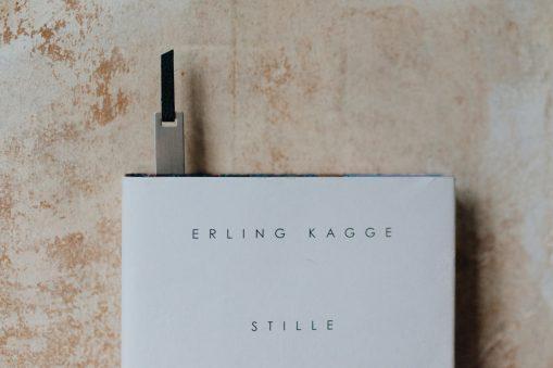 Lesezeichen Monograph in silber finish, Atelier.91