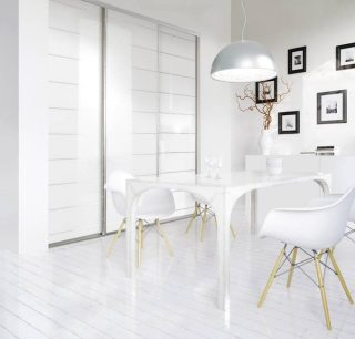 Weie loft wohnung - luxury white loft apartment
