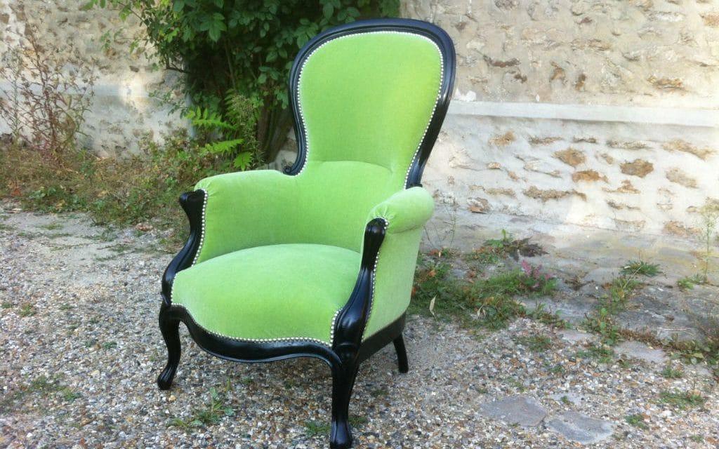 restauration d un fauteuil de style