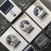 Cartes de Noël Dômes à secouer Boule de neige 2019 2