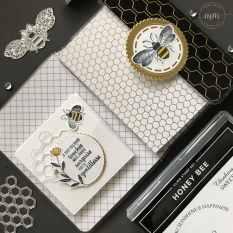 Mini carnet de voyage Honey Bee 2020 3