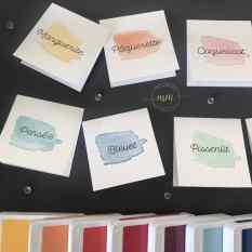 Marques tables Noces d'or Happy Watercolor 2019 3