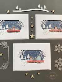 Cartes de Noël Plein de flocons 2020 5