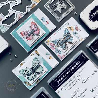 Tutoriel Mini carte a rabat Bijou Papillon 2021 2