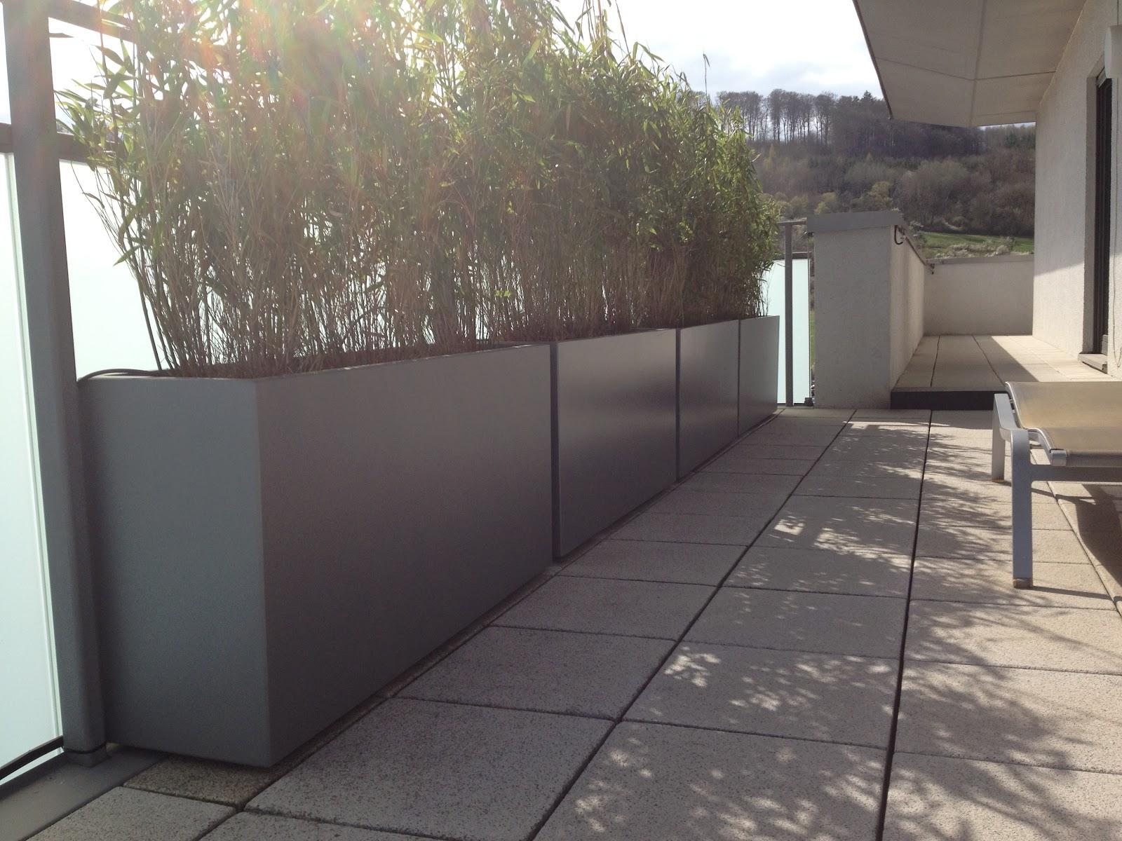 Bacs IMAGEIN Bambous En Brise Vue Amnagement Terrasse