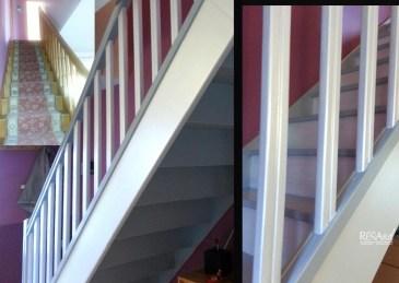 Relooking d'un escalier intérieur - Ateliers Renard