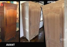 Meuble en chêne - Ateliers Renard