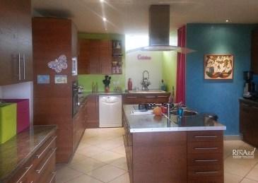 Stucco - Murs de cuisine - Ateliers Renard