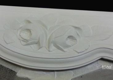 Zoom avant patine - Ateliers Renard