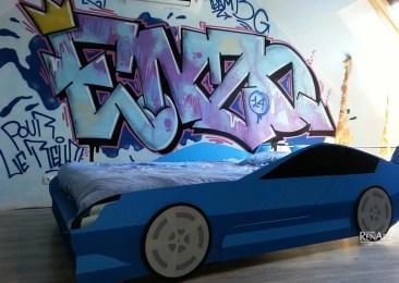 Contour de lit 2 places « voiture » - Ateliers Renard