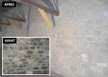 Murs en pierres intérieur - Ateliers Renard