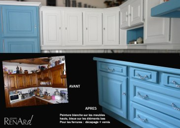 relooking meubles de cuisine