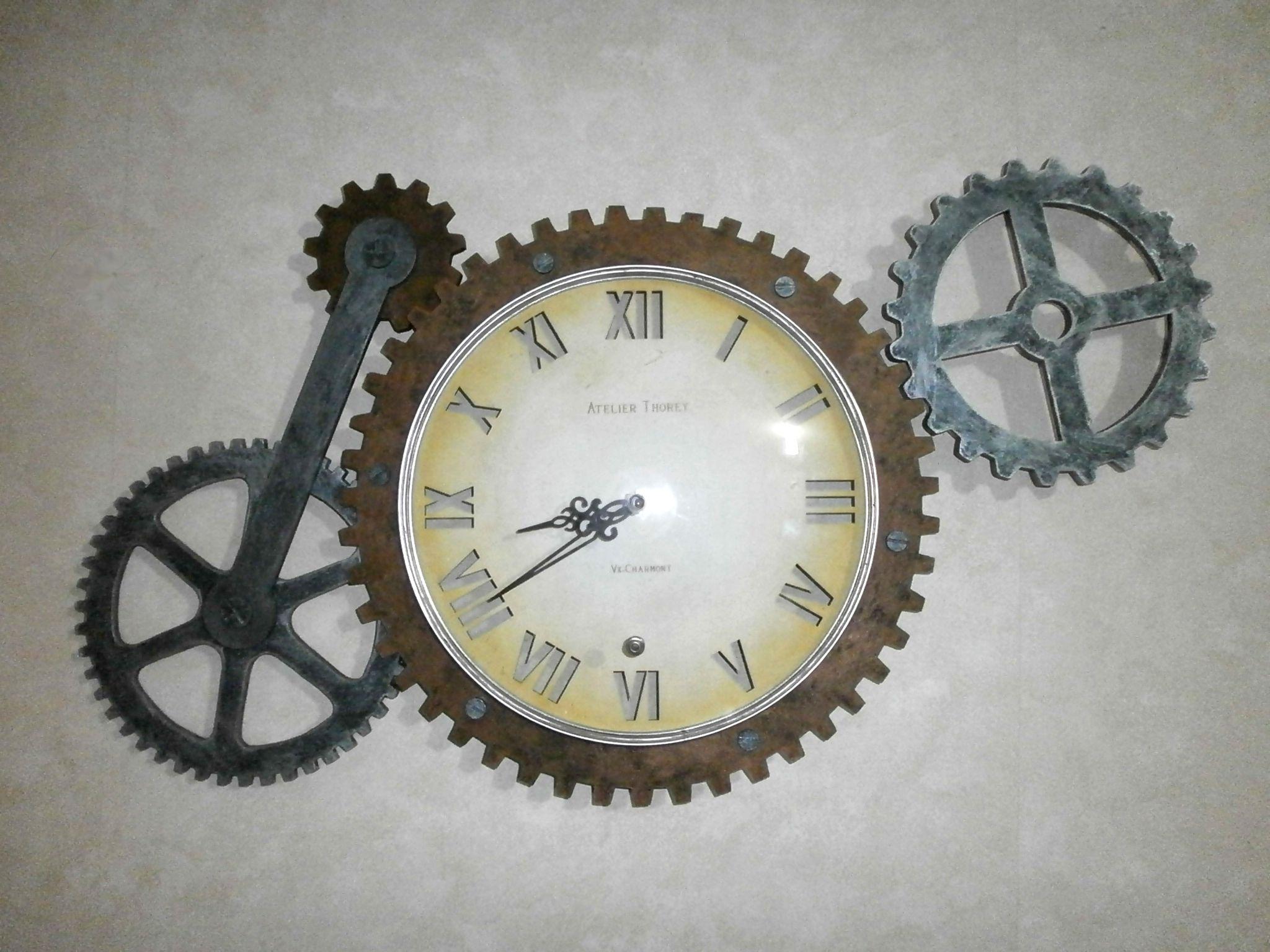 Horloge steampunk 2