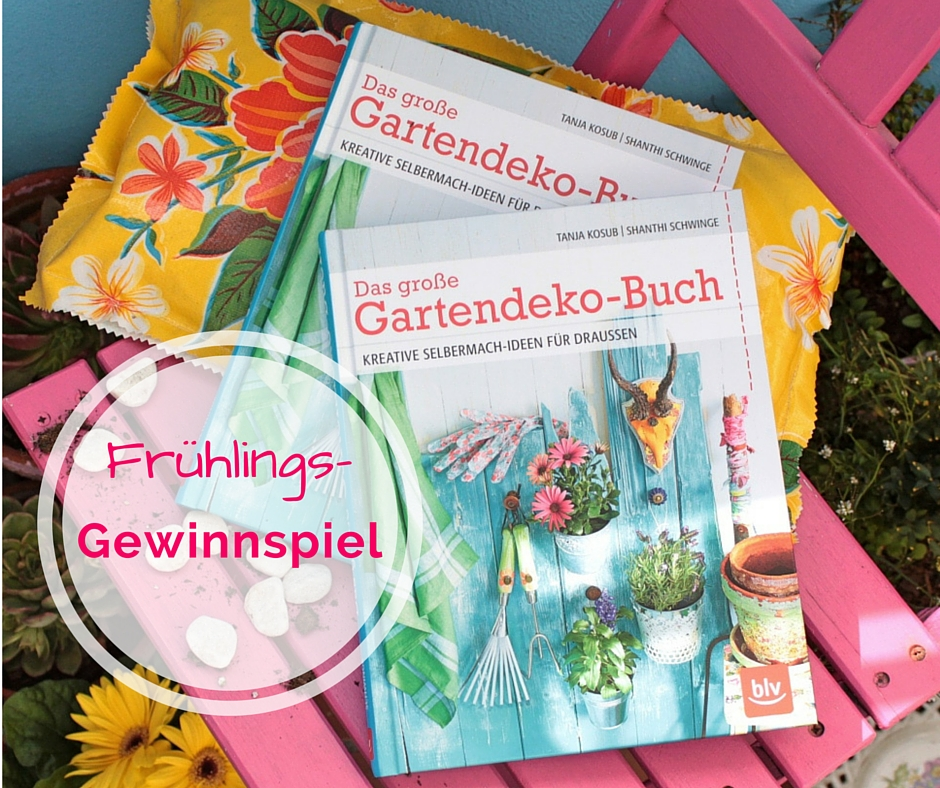 Frühlings-Gewinnspiel - Das große Gartendekobuch