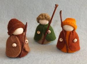 Drie Herders, kerst icoon