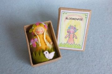 Pippilotta bloemenfee in een doosje