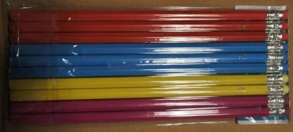 potloden 10stuks verpakt in 4 kleuren