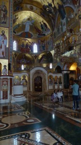 Podgorica Basilica Interno 2